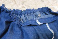 Como transformar vestido em saia