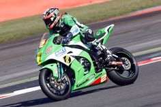 Maxxis sponsored Gearlink rider Adam Jenkinson. Photo by Mike Petch at Silverstone British Superbike Championship