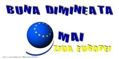 9 Mai Ziua Europei - Buna Dimineata! 9 Mai, Company Logo, Logos, Logo