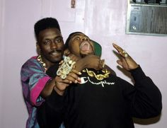 Biz Markie and Big Daddy Kane