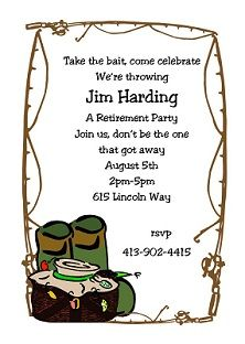 Fishing Birthday Invitations for beautiful invitation example