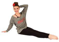 Kalani Hilliker modeling for Abby Lee Dance Company