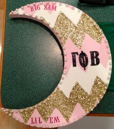 Crescents for Gamma Phi Beta Big and Little!