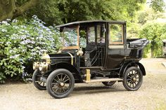 1913 Unic Type C9 Landaulette Taxicab  Chassis no. 11640 Engine no. 700