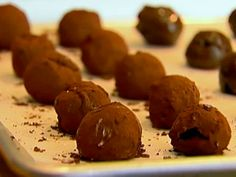 ina garten's chocolate truffles.  i made these last year too, and they were so decadent and amazing.  great for gifting.