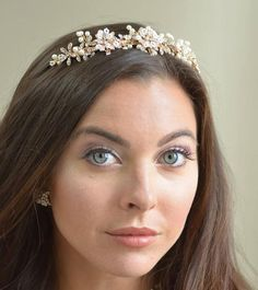Ansonia Bridal Rose Gold Pearl And Rhinestone Wedding Tiara. Ansonia Bridal Rose Gold Pearl And Rhinestone Wedding Tiara on Tradesy Weddings (formerly Recycled Bride), the world's largest wedding marketplace. Price $108.88...Could You Get it For Less? Click Now to Find Out!