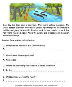 Printables Comprehension Worksheets For Grade 1 grade 1 english comprehension worksheets google search search