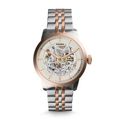1cbb0a93a89 Townsman Automatic Two-Tone Stainless Steel Watch