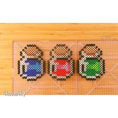 Legend of Zelda perler beads by hannah