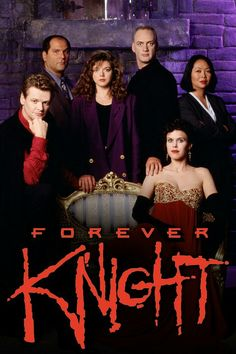 FOREVER KNIGHT Season 2 Cast Photo. A really entertaining series from the mid-'90s during the heyday of syndication. Geraint Wyn Davies starred as Nick Knight, Toronto policeman and 800-year-old vampire.
