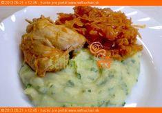 Výrazná chuť kapusty kontrastuje s krémovou konzistenciou zemiakového pyré s bylinkami. Tento recept Vám dáva do pozornosti: Šéfkuchári.sk