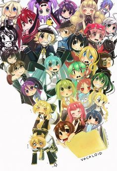 Vocaloid. This is literally my computer right now. x)