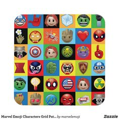 Shop Marvel Emoji Characters Grid Pattern Mouse Pad created by marvelemoji. Emoji Patterns, Emoji Characters, Emoji Design, Galaxy Pattern, Ipad Sleeve, Laptop Decal, Custom Posters, Surface Design, Handmade Home Decor
