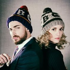 74b25ae0ecd  evelyne brochu and  deucestain of  x company in both retro and heritage   cbc toques