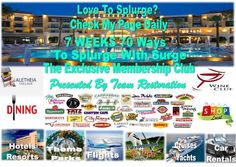 @OhenewaaTravel: 7 Weeks And 70 Ways To Splurge With Surge... Surge Splurge of The Day: Red Lobster....!!!!!