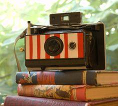 Polaroid Pinhole Pinholaroid Pirate Stripe