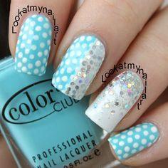 Instagram photo by lookatmynailart #nail #nails #nailart | See more nail designs at http://www.nailsss.com/...