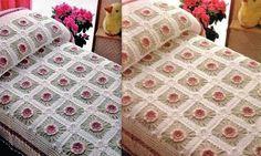 crochet yatak örtüsü - Google'da Ara