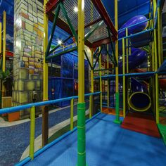 Captain Kids entertainment - Virutal Tour - WOW Amazing.  We designed, manufactured and installed this large indoor play structure.  #weBUILDfun - tour around and get some great ideas for your FEC. sales@iplayco.com