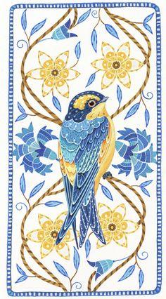 Anne Mortimer: Stitchbird Swift