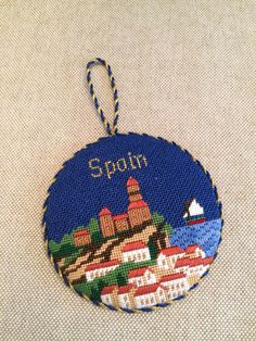 Spain ornament ~ Canvas by Silver Needle