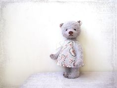 PATTERN Download to create Teddy Bear like Lavander Mary 8 inch whith Dress by zverrriki on Etsy https://www.etsy.com/listing/93506324/pattern-download-to-create-teddy-bear