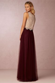 Cleo Top & Louise Skirt in Bridesmaids Bridesmaid Dresses at BHLDN