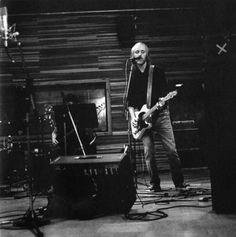 Tom Petty in the studio, recording Wildflowers, 1994.