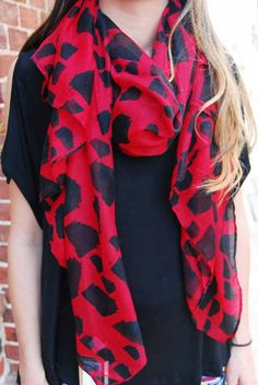 State Love Scarf - Cheeky Peach - A style and service boutique in Downtown Athens, Georgia {I so WANT this♥}