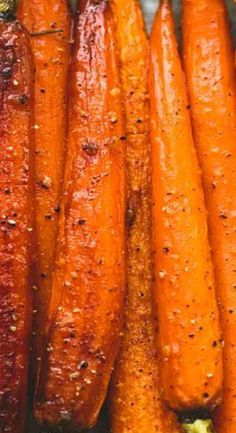 roasted carrots oven brown sugar ~ roasted carrots ` roasted carrots oven ` roasted carrots and potatoes ` roasted carrots brown sugar ` roasted carrots healthy ` roasted carrots and broccoli ` roasted carrots oven brown sugar ` roasted carrots recipe Roasted Whole Carrots, Brown Sugar Roasted Carrots, Carrots In Oven, Balsamic Carrots, Grilled Carrots, Honey Glazed Carrots, Baked Carrots, Carrots Healthy, Veggie Side Dishes