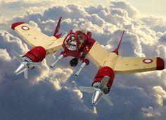 concept ships: Lego ship concepts by Jon Hall