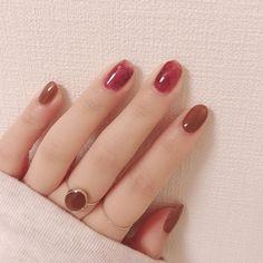 Stylish Nails, Trendy Nails, Cute Nails, Asian Nails, Manicure, Green Nail Art, Simple Acrylic Nails, Kawaii Nails, Nail Ring