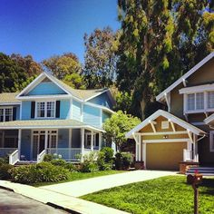 Wisteria Lane (Desperate Housewives) -  Universal Studios, Hollywood