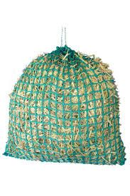 Saddlers Standard Haynet-Dark Green-Small Hole Large 42 haynet also available in small hole They have top rings for long life and easy