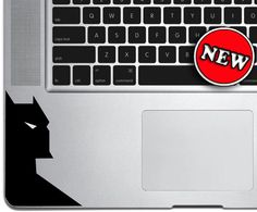 Batman - Macbook TrackPad Decal - Macbook Decal - Mac Decal - Macbook Pro Sticker - Wrist Rest Decal on Etsy, $4.95