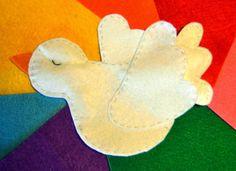 Marioneta Paloma de la Paz