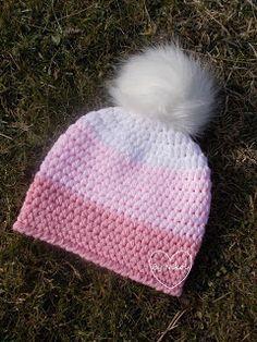 Klubíčkovinky: Návod na kulíška Hand Knitting, Shawl, Diy And Crafts, Winter Hats, Barbie, Crochet Hats, Handmade, Creativity, Life