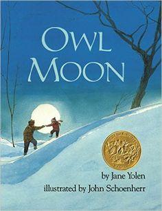 Owl Moon: Jane Yolen, John Schoenherr: 9780399214578: Amazon.com: Books