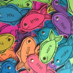 Colorize Your Classroom With Editable Sight Word Fishing Fun! | A Differentiated Kindergarten | Bloglovin'