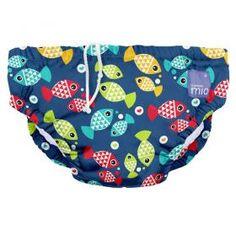 Bambino Mio, Reusable Swim Nappy , Aquarium, Medium (6-12 Months) £9.99