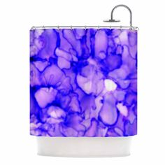 "Claire Day ""Purple"" Lavender Shower Curtain"