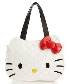 Hello Kitty Face Tote