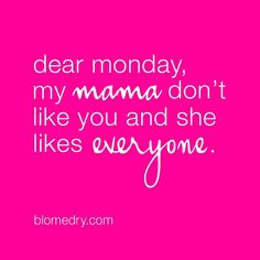 Mama knows best! If you're looking for the perfect pressie to give this Mother's Day, a hot pink Blo gift card is sure to make her smile! #bloheartsyou #monday #mothersday