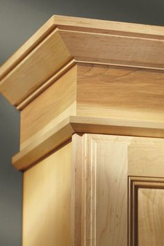 Monticello Crown Moulding is the perfect accent for rooms with higher ceilings where a subtle solution is desired.