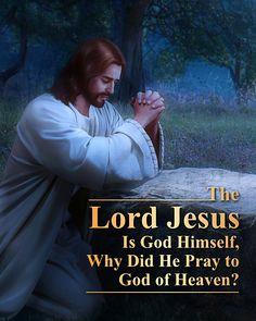the lord Jesus is God he pray to God of heaven? Bible Study Group, Bible Study Tips, Christian Images, Christian Life, Learn The Bible, Spirit Of Truth, Christian Religions, Praying To God, The Son Of Man