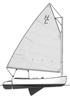 HANDY CAT 14 (Cape Dory)  Hull Type:Centerboard (Trunk)Rig Type:Gaff head Cat LOA:14.00' / 4.27mLWL: Beam:6.67' / 2.03mListed SA:160 ft2 / 14.86 m2 Draft (max.)4.50' / 1.37mDraft (min.)1.00' / 0.30m Disp.750 lbs./ 340 kgs.Ballast: SA/Disp.:31.06Bal./Disp.:Disp./Len.: Designer:Merle Hallett Builder:Cape Dory/Handy Boat Serv. Construct.:FGBal. type: First Built:1969Last Built:# Built: