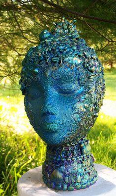 THE   Fantastic Bead Mosaics  Queen of the DEEP. $375.00, via Etsy.