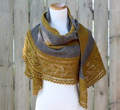 Ravelry: Rugby Shawl pattern by knottygnome crafts