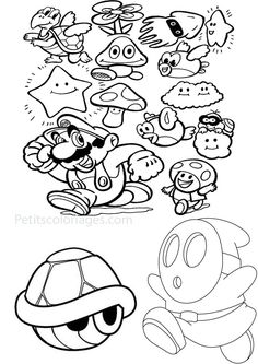 Splatoon Coloring Pages Coloring Pages crafts for boys