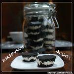 Zelf suikervrije bounty maken met het recept van Gezond leven met Pien Cookie Desserts, Mason Jars, Healthy Recipes, Healthy Food, Low Carb, Snacks, Cookies, Sweet, Tableware